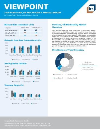 2020 Annual Viewpoint Portland Multifamily Report