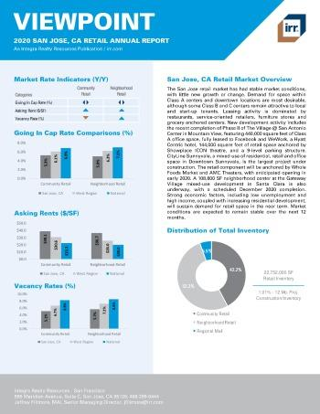 2020 Annual Viewpoint San Jose Retail Report