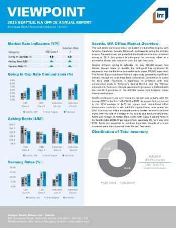 2020 Annual Viewpoint Seattle Office Report