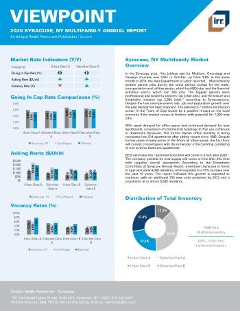 2020 Annual Viewpoint Syracuse Multifamily Report