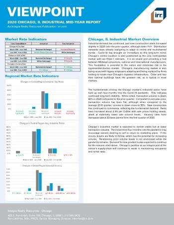 2020 Mid-Year Viewpoint Chicago, IL Industrial Report