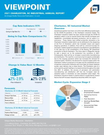 2021 Annual Viewpoint Charleston, SC Industrial Report