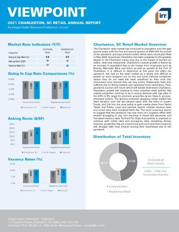 2021 Annual Viewpoint Charleston, SC Retail Report