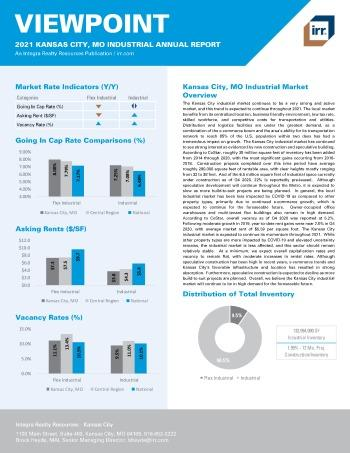 2021 Annual Viewpoint Kansas City, MO Industrial Report