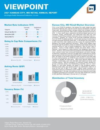 2021 Annual Viewpoint Kansas City, MO Retail Report