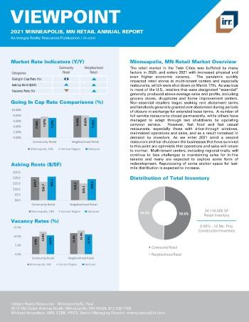 2021 Annual Viewpoint Minneapolis, MN Retail Report