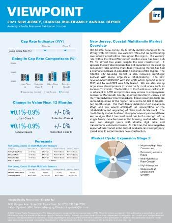 2021 Annual Viewpoint New Jersey, Coastal Multifamily Report