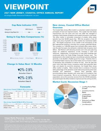 2021 Annual Viewpoint New Jersey, Coastal Office Report