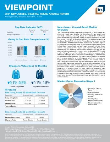 2021 Annual Viewpoint New Jersey, Coastal Retail Report