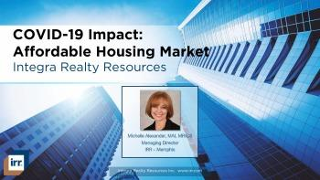 COVID-19 Impact: Affordable Housing Market Webinar & Slide Deck
