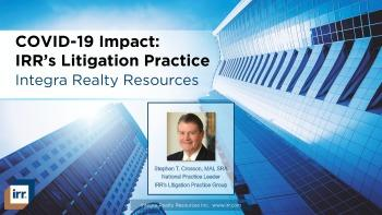 COVID-19 Impact: Litigation Specialty Practice Webinar & Slide Deck