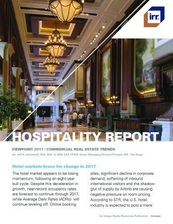 2017 Viewpoint National Hospitality Report
