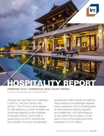 2018 Viewpoint National Hospitality Report